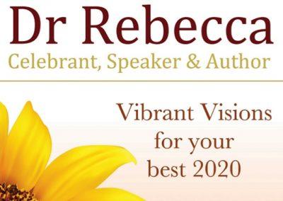 Dr Rebecca Vibrant Visions